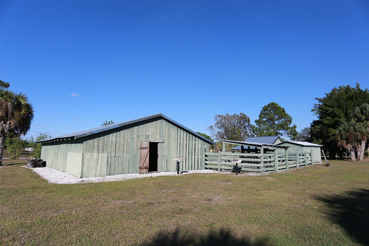 Immokalee Pioneer Museum at Roberts Ranch horse barn